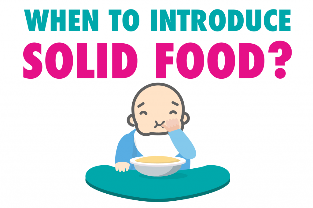 When To Introduce Solid Foods?